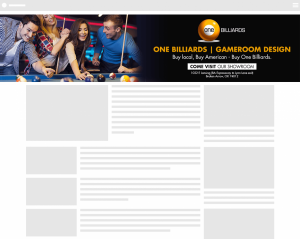 One Billiards