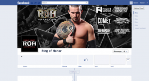 Ring of Honor Facebook Cover
