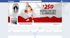 Street Cred Sports Facebook Cover