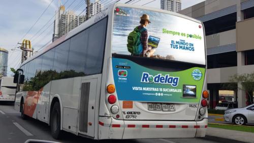 MONTAJE TRASERA DE BUS