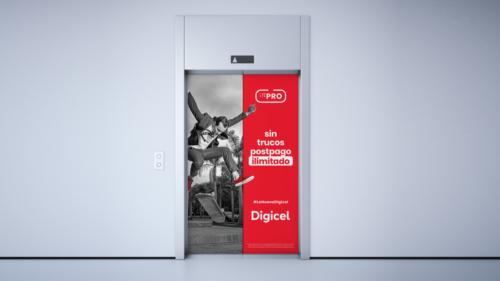 LTE Pro campaign elevador