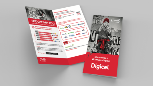 LTE Pro campaign brochure