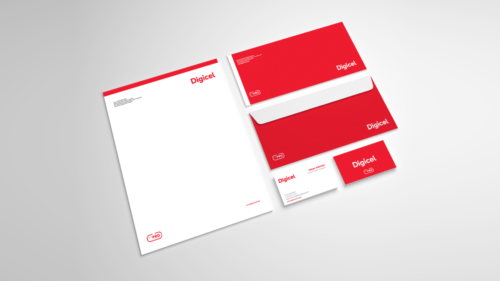 Digicel stationery
