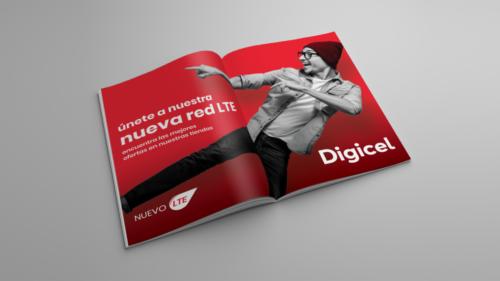 LTE campaign magazine ad