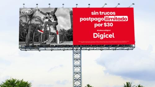 LTE Pro campaign billboard