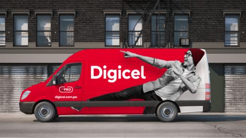 Digicel Van